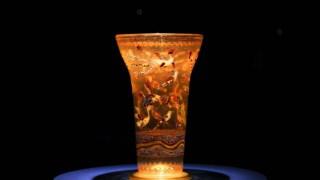 Este vaso com pássaros a voar (séculos XIII-XVI) foi uma das últimas peças compradas por Gulbenkian
