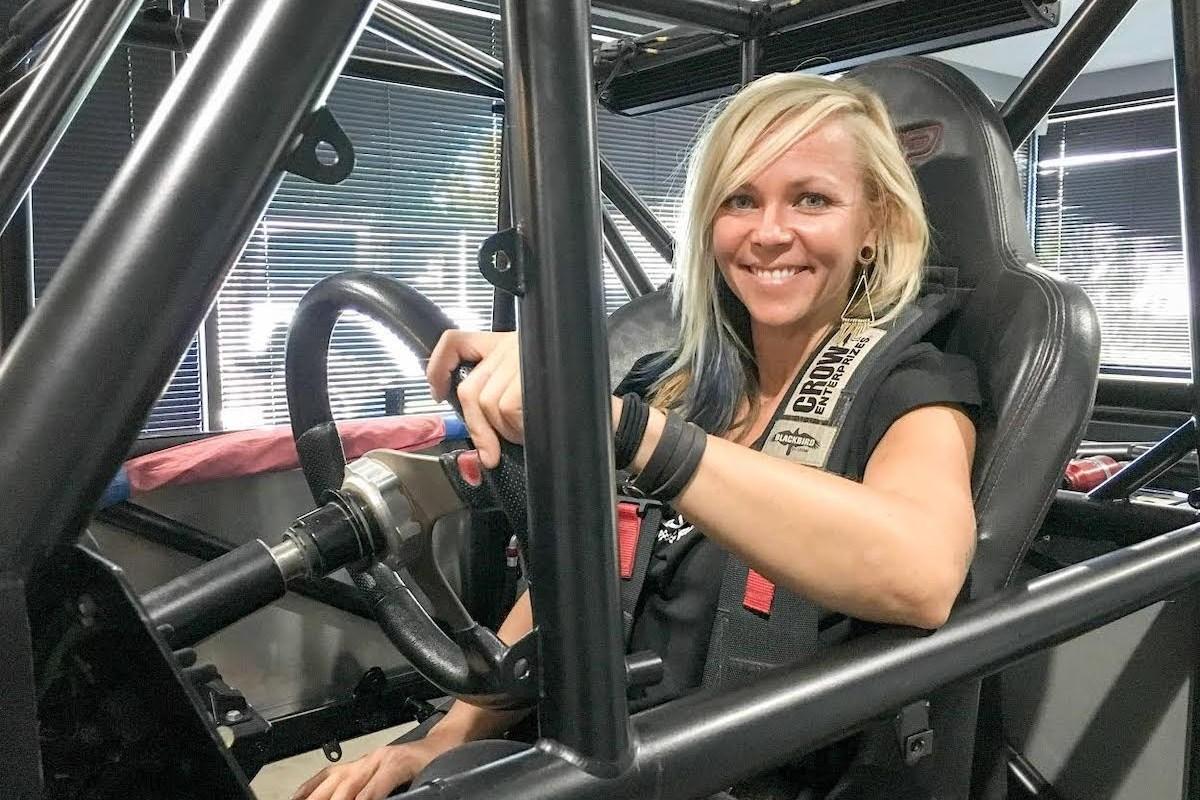Morreu a piloto Jessi Combs quando tentava bater recorde de velocidade