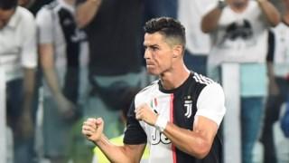 Ronaldo regressou aos golos