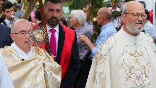 Bispo do Funchal, Nuno Brás, na imagem à esquerda