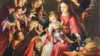 <i>A leitura da sina do Menino Jesus</i> é uma pintura datada de 1667