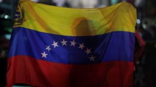 Num protesto em Caracas, em memória das vítimas de crimes violentos
