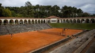 O court central do Jamor