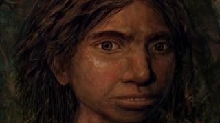 Retrato de uma jovem denisovana