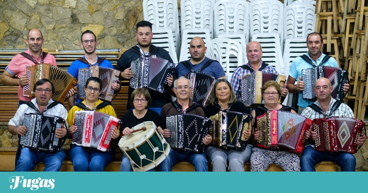 As concertinas devolveram a Barrenta ao mapa