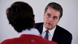 Roberto Azevêdo, director geral da OMC