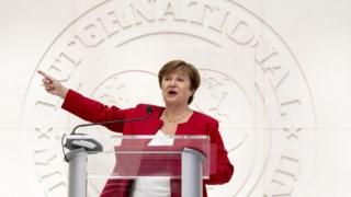 Kristalina Georgieva, a nova directora executuva do FMI