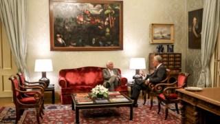 António Costa apresentou esta tarde o Governo ao Presidente