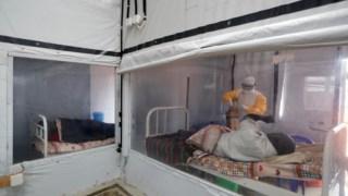 Enfermaria na República Democrática do Congo