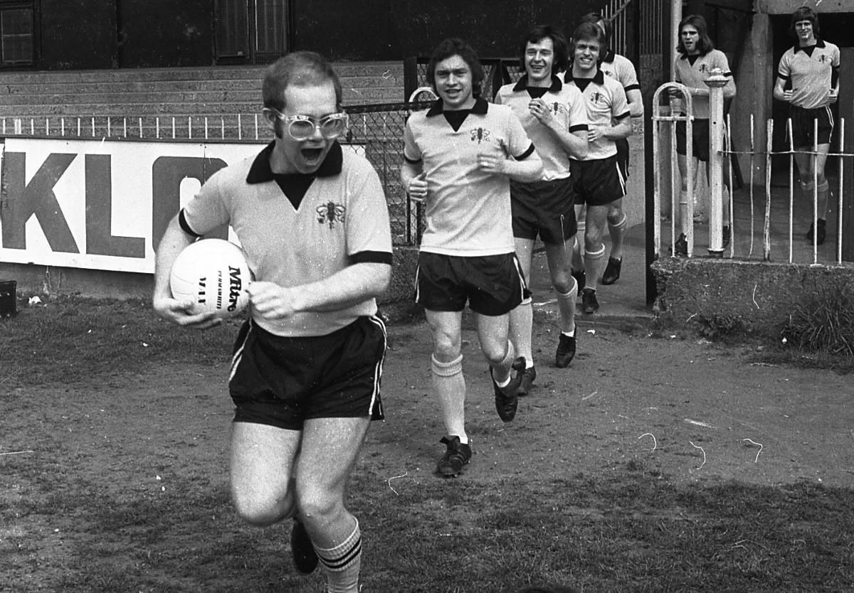 Elton John transformou o Watford num foguetão