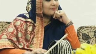 A deputada Tamanna Nusrat