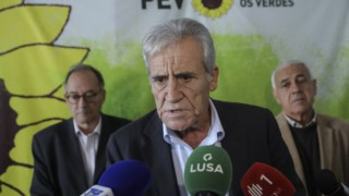 Jerónimo de Sousa deslocou-se à sede do PEV