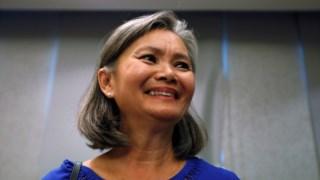 Mu Sochua já tinha sido impedida de viajar da Tailândia para o Camboja