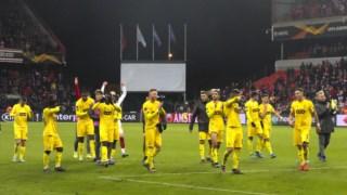Standard Liège permite ao Vitória continuar a sonhar