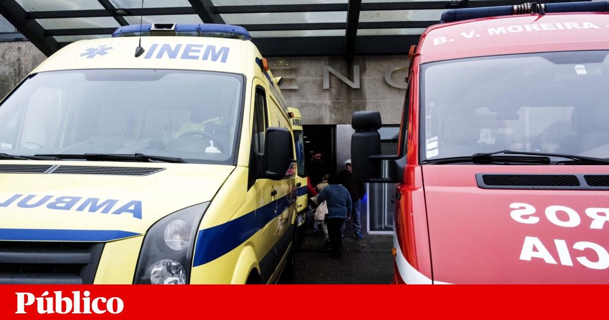 Acidentes. Choque entre autocarros provoca sete feridos no Seixal - PÚBLICO