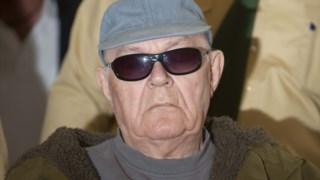 John Demjanjuk no julgamento em Munique, em 2011