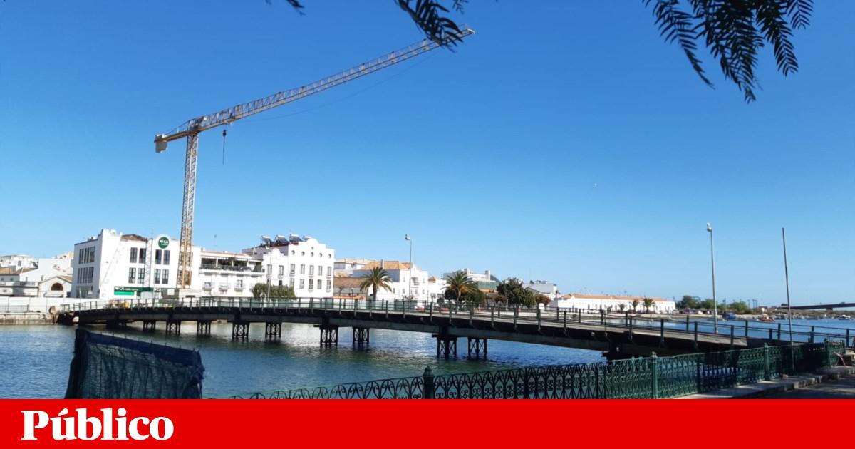 Algarve. Nova ponte em Tavira - a quinta em 1,5 quilómetros - leva mais carros para o centro histórico - PÚBLICO