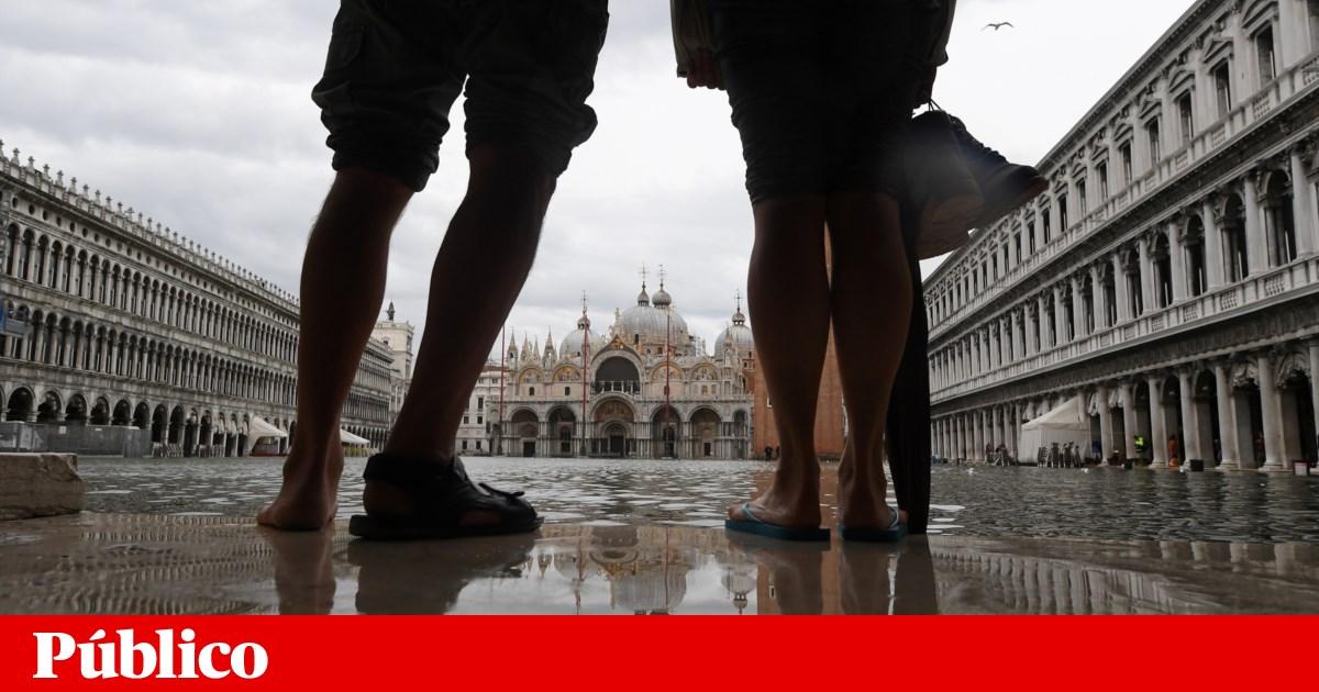 Ameaçada pelas cheias, Veneza pede ajuda para recuperar