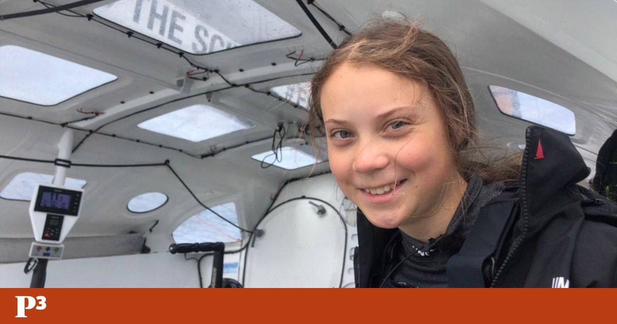 Greta Thunberg está a caminho dos Açores