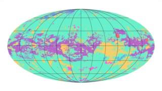 O primeiro mapa geológico global da lua Titã