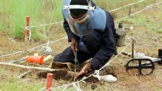O objectivo do Governo angolano é conseguir que o país fique livre de minas até 2025