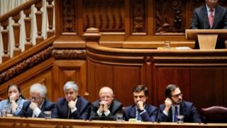 Novo Governo no Parlamento