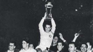A vitória do Real Madrid na primeira final da Taça Intercontinental