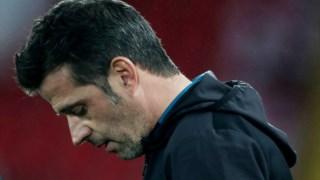 Marco Silva chegou ao Everton no início da época passada