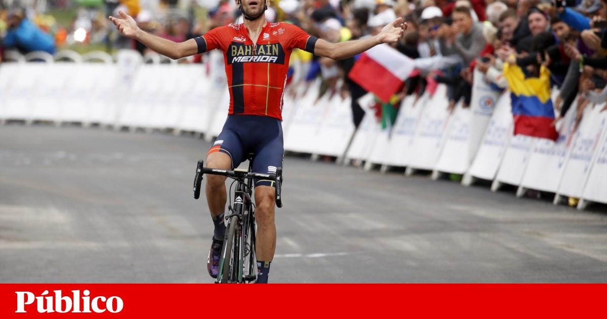 """Vincenzo Nibali inicia """"ataque"""" ao Giro na Volta ao Algarve"""
