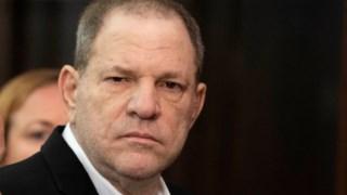 Weinstein em Nova Iorque em 2018 quando foi ouvido para conhecer as suas acusações