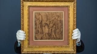 O desenho de Andrea Mantegna que vai a leilão a 29 de Janeiro é um dos dois que estão hoje em colecções privadas