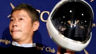 Maezawa será um dos primeiros turistas espaciais a voar até à Lua no SpaceX de Elon Musk