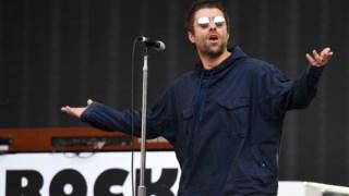 Liam Gallagher em concerto em 2018