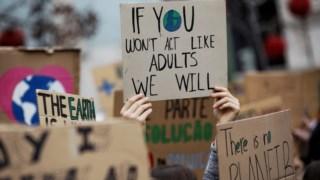 No último ano têm-se multiplicados as manifestações de estudantes pelo clima