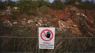 A intervenção nas pedreiras contou com cinco milhões provenientes do Fundo Ambiental