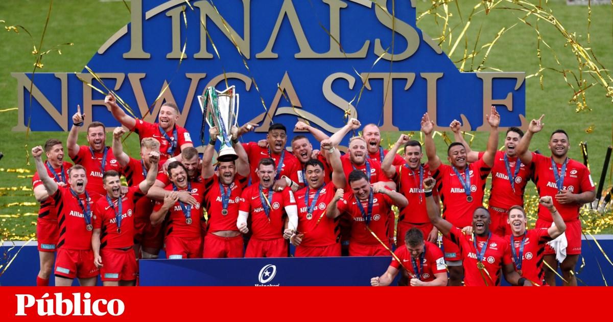 Campeões ingleses e europeus de râguebi despromovidos para a segunda liga
