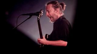 Radiohead em 2012, numa actuação no NOS Alive, na altura Optimus Alive