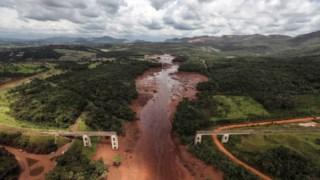 O mar de lama e lixo causou a morte a 270 pessoas em Brumadinho