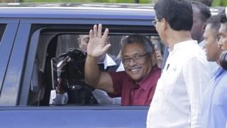 ,Presidente do Sri Lanka