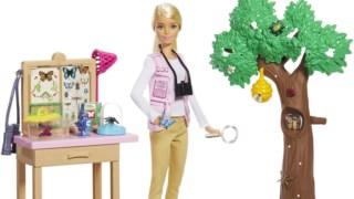 ,Barbie National Geographic Entomologista Boneca e Playset