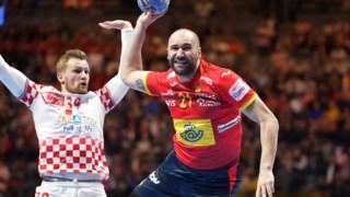 A selecção espanhola de andebol foi mais forte do que a croata na final do Europeu