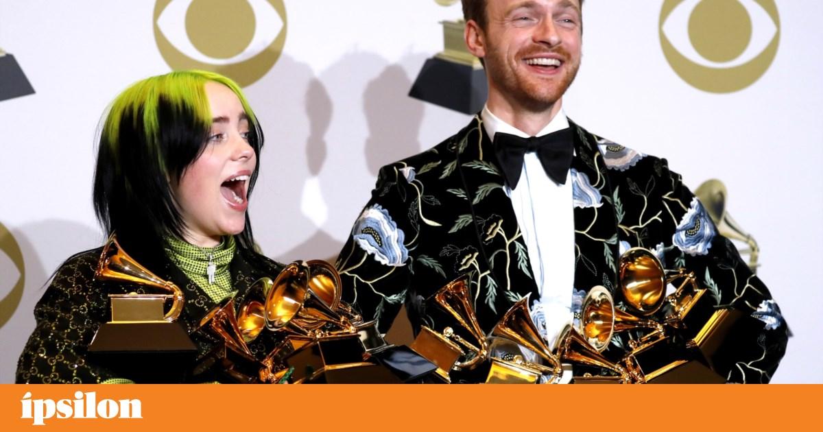 Billie Eilish vence cinco das principais categorias dos Grammy