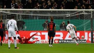 André Silva abriu o marcador na cobrança de um penalti