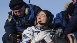 Christina Koch passou 328 dias no espaço
