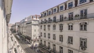 Fotomontagem divulgada pela autarquia de como deverá ficar a Rua da Prata depois das obras