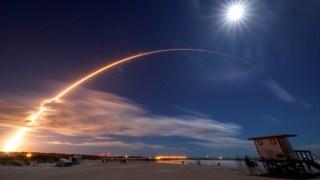 A sonda <i>Solar Orbiter</i> foi lançada da base do Cabo Canaveral, nos EUA