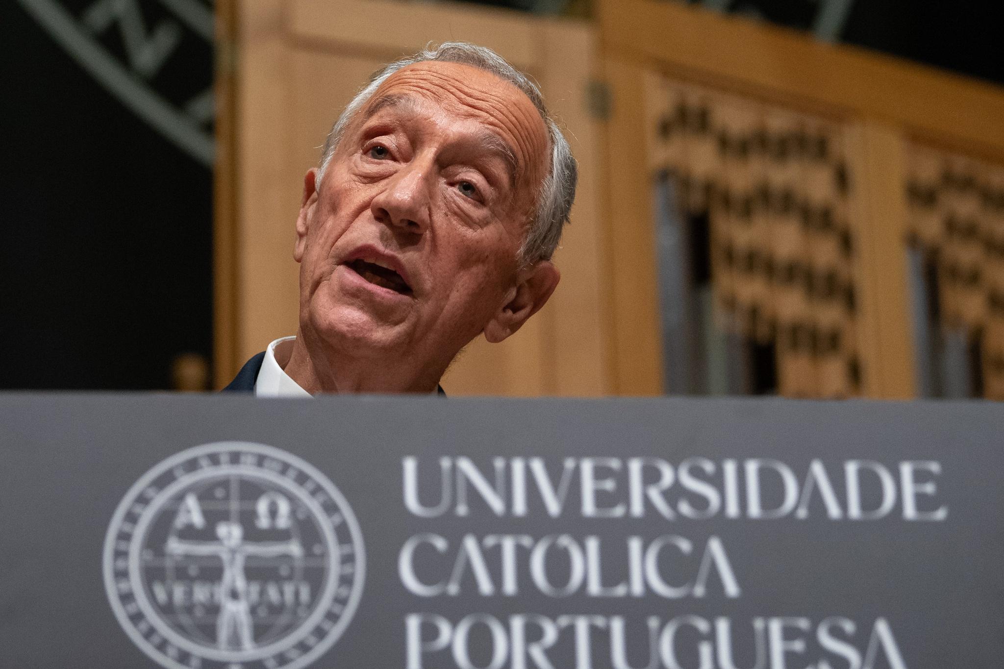 Marcelo Rebelo de Sousa contacta comunidade portuguesa dos EUA