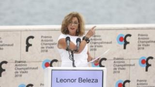 Leonor Beleza esteve neta quinta-feira em Loulé