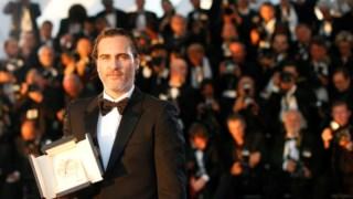 Joaquin Phoenix na 92ª Cerimónia dos Óscares, onde ganhou o galardão para Melhor Actor.