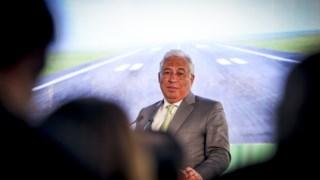 António Costa na apresentação do projecto do Montijo